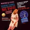 Marine Le Clézio : Votre corps me parle au Paris de l'humour