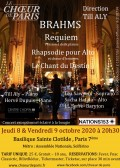 Le Chœur de Paris et solistes en concert