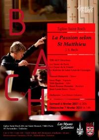 Le Chœur de Paris, Chœur de la Trinité, Les Muses galantes et solistes en concert