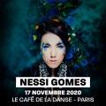 Nessi Gomes au Café de la Danse