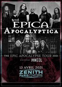 Epica et Apocalyptica au Zénith de Paris