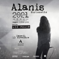 Alanis Morissette à l'Accor Arena