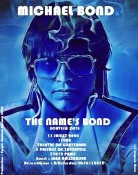 Michael Bond : The Name's Bond au Théâtre du Gouvernail