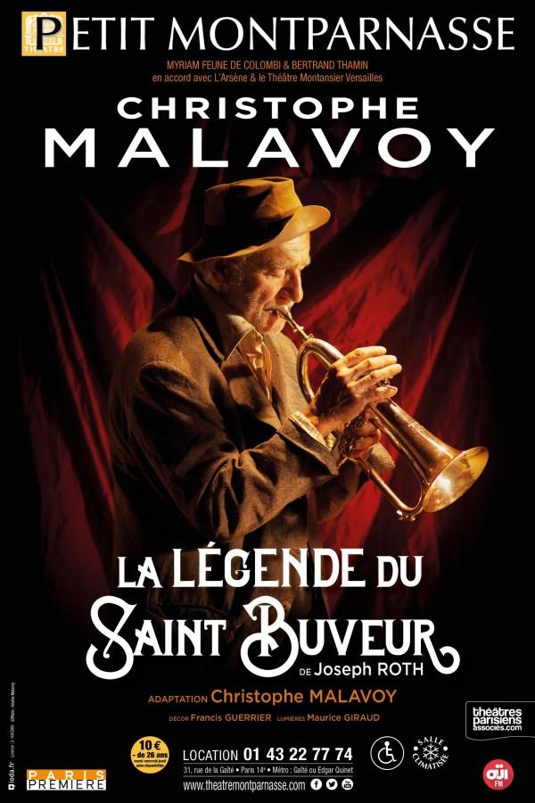La Légende du Saint-Buveur au Théâtre Montparnasse