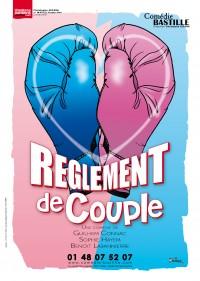 Règlement de couple à la Comédie Bastille