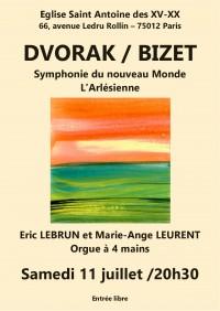Concert Éric Lebrun et Marie-Ange Leurent - Affiche