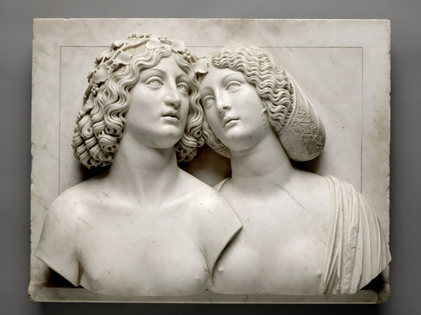 Tullio Lombardo, Bacchus et Ariane, vers 1505-1510. Vienne, Kunsthistorisches Museum