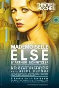 Mademoiselle Else au Théâtre de Poche-Montparnasse