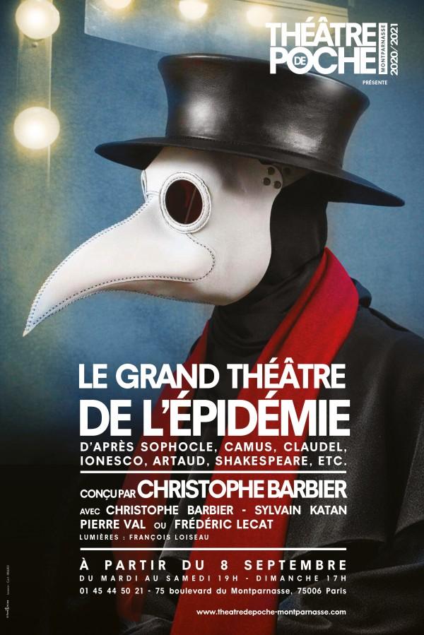 Le Grand Théâtre de l'épidémie au Théâtre de Poche-Montparnasse