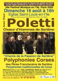 Le Chœur d'hommes de Sartène en concert