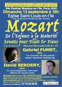 Gabriel Fumet et David Berdery en concert