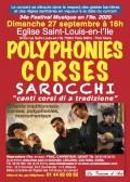 L'Ensemble vocal et instrumental corse Sarocchi en concert