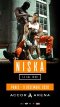 Niska à l'AccorHotels Arena