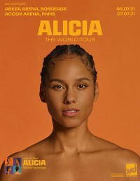 Alicia Keys à l'AccorHotels Arena