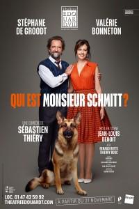 Qui est Monsieur Schmitt ? au Théâtre Édouard VII - Affiche
