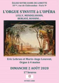 Éric Lebrun et Marie-Ange Leurent en concert