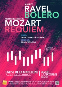 L'Orchestre Hélios et Chœur Tempestuoso en concert