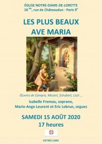 Isabelle Fremau, Éric Lebrun et Marie-Ange Leurent en concert