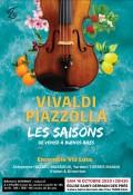 L'Ensemble Via Luce et Clémence Hazaël-Massieux en concert