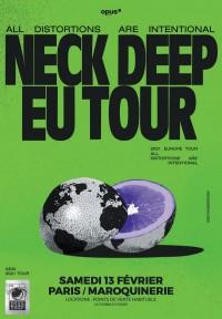 Neck Deep à la Maroquinerie