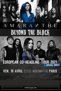 Amaranthe et Beyond the Black en concert