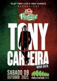 Tony Carreira à La Défense Arena