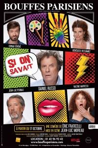 Si on savait au Théâtre des Bouffes Parisiens - Affiche
