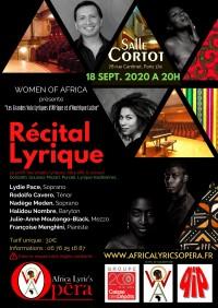 Lydie Pace, Nadège Meden, Rodolfo Cavelo et autres artistes en concert