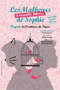 Les Malheurs de Sophie, 6 nouvelles bêtises - Affiche