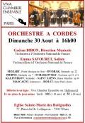 Viva Chamber Ensemble et Emma Savouret en concert