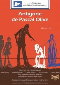 Antigone de Pascal Olive au Théâtre Mélo d'Amélie