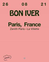 Bon Iver au Zénith de Paris