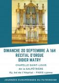 Didier Matry en concert.
