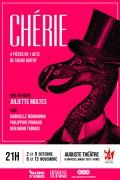 Chérie : 4 pièces en 1 acte de Sacha Guitry à L'Auguste Théâtre