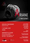 « Ariane » opéra de Massenet en version de concert