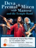 Deva Premal, Miten, Manose & The Temple Band au Grand Rex