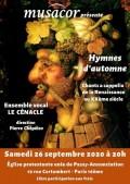 L'Ensemble Le Cénacle en concert
