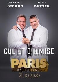 Jean-Marie Bigard et Renaud Rutten : Cul et chemise à l'Apollo Théâtre