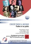Renaud Boutin, Simone Milone et Françoise Tillard en concert