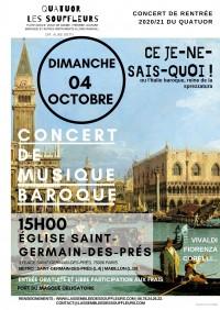 Le Quatuor Les Souffleurs en concert