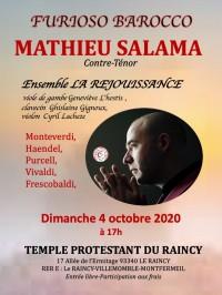 Mathieu Salama et ensemble La Réjouissance en concert