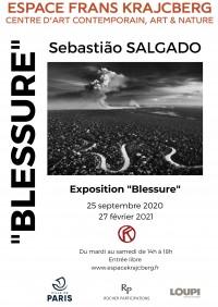 Sebastião Salgado, Blessure au Centre d'Art contemporain Frans Krajcberg