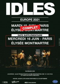 Idles à l'Élysée Montmartre