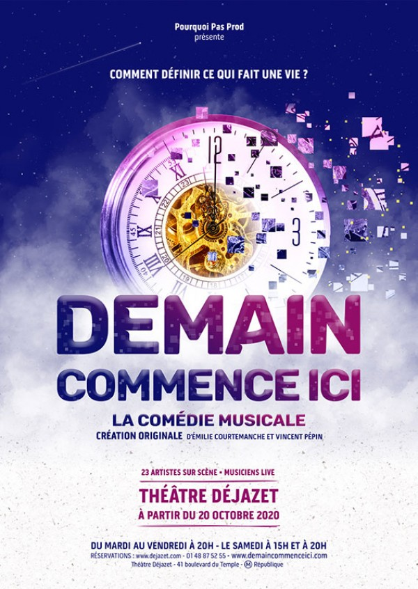 Demain commence ici au Théâtre Déjazet
