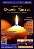 Le Chœur russe de Paris Znamenie en concert