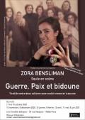Zora Bensliman : Guerre, paix et bidoune à la Comédie Dalayrac