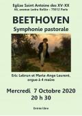 Marie-Ange Leurent et Éric Lebrun en concert