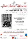 Le Quatuor Girard en concert