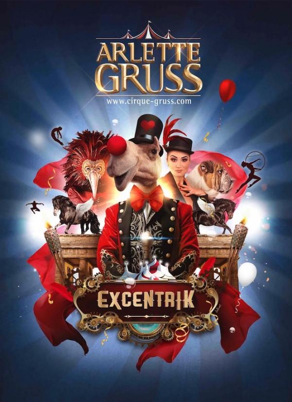 Excentrik par le Cirque Arlette Grüss