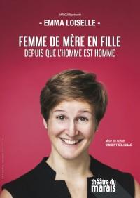 Emma Loiselle au Théâtre du Marais - Affiche